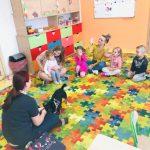 Pieski ze Schroniska w Świeciu w naszym przedszkolu Baśniowy Dworek w Świeciu
